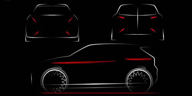 Опубликован первый скетч следующего поколения SEAT Ibiza