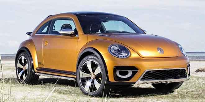 Производство Volkswagen Beetle Dune начнётся в 2016 году