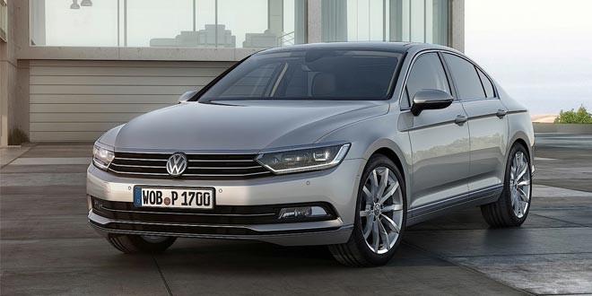 Компания Volkswagen показала первые официальные фотографии нового поколения Passat