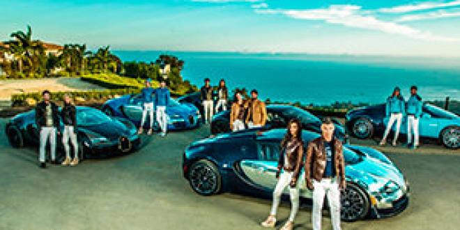 Компания Bugatti выпустила линейку VIP одежды