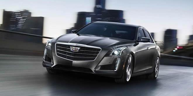 Вышел обновленный седан Cadillac CTS