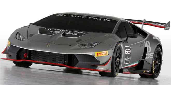 Официально представлена трековая версия Lamborghini Huracan Super Trofeo