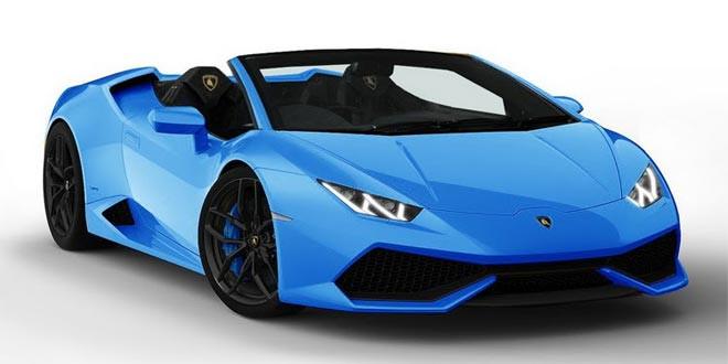 Родстер Lamborghini Huracan выйдет в 2015 году
