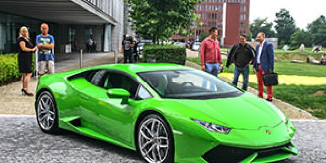 В Чехию доставлен первый Lamborghini Huracan
