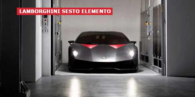 Один из пяти Lamborghini Sesto Elemento выставлен на продажу