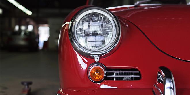 Привет из прошлого от Porsche 356B Super 90