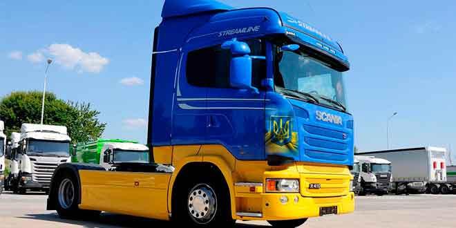 Scania R410 по кличке «Free Bird»