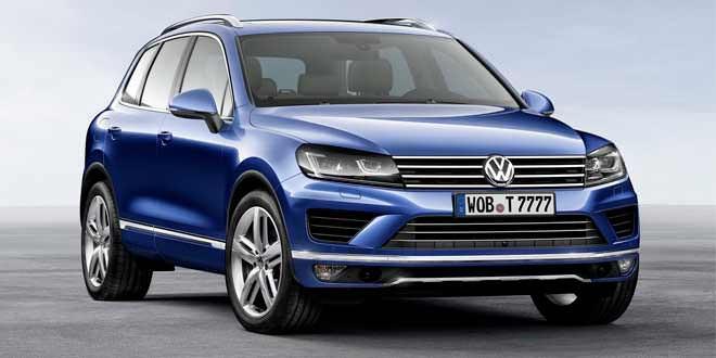 Озвучена цена на рестайлинговый Volkswagen Touareg