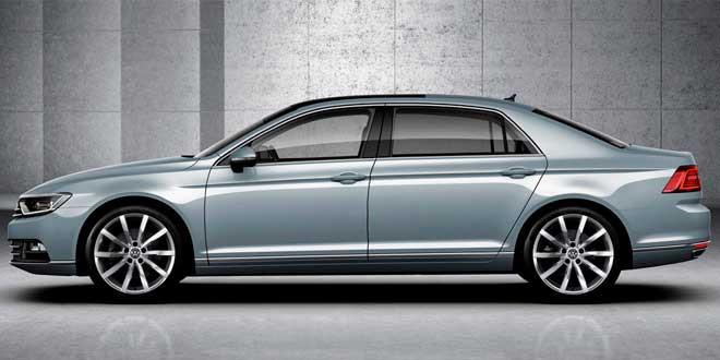 Рендер следующего поколения Volkswagen Phaeton
