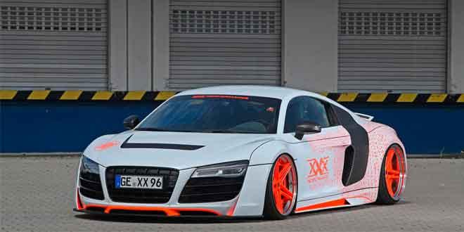Ателье xXx Performance подготовило яркий тюнинг для Audi R8
