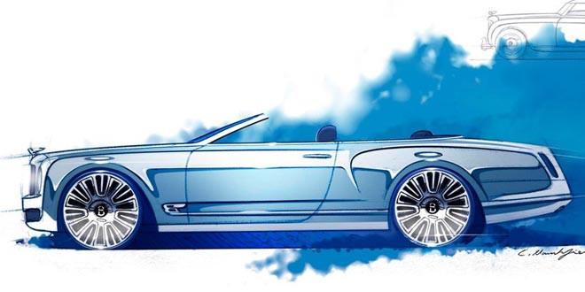 Bentley таки сделает кабриолет из Mulsanne