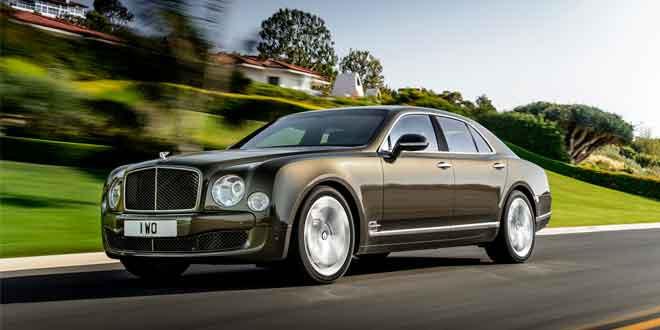 Bentley выпустил Speed-версию лимузина Mulsanne
