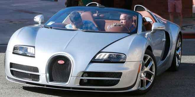 У Арнольда Шварценеггера тоже есть Bugatti Veyron