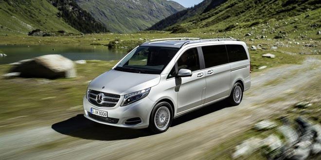 Вышлая полноприводная версия Mercedes-Benz V-Class
