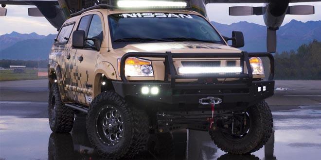 Nissan покорит Аляску на «армейском» пикапе Titan