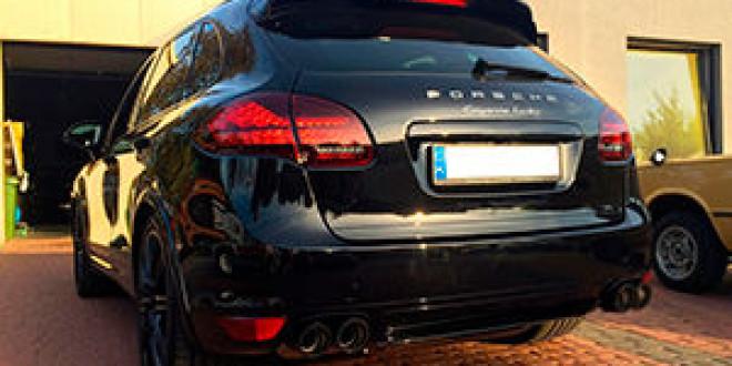 Тюнер ММ-Performance подготовил новый выхлоп для Porsche Cayenne Turbo