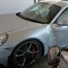 Разбитый Porsche 991 GT3 продается за 49 900 евро