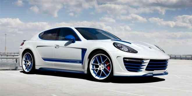 Porsche Panamera в роскошном обвесе от TopCar
