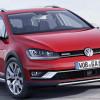 Вышел внедорожный универсал Volkswagen Golf Alltrack