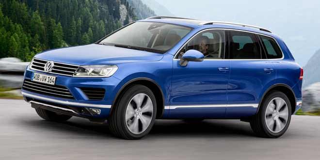 В моторной гамме Volkswagen Touareg появился новый дизель