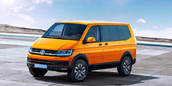 Рендер нового VW Transporter на основе концепта VW Tristar