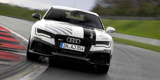 Audi выпустила на трек самый быстрый беспилотник в мире