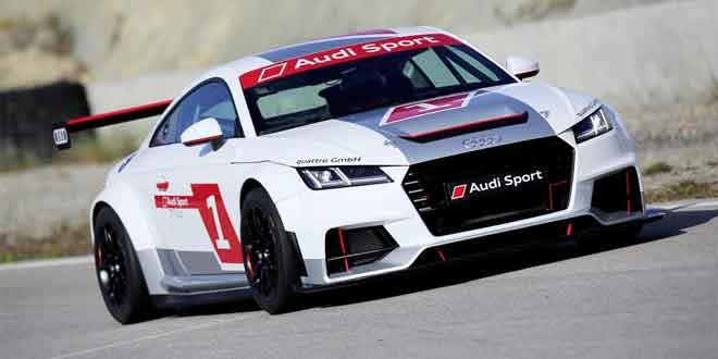 Audi запускает гоночную моносерию для купе TT