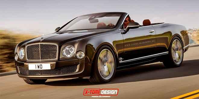Рендер Bentley Mulsanne Speed Convertible