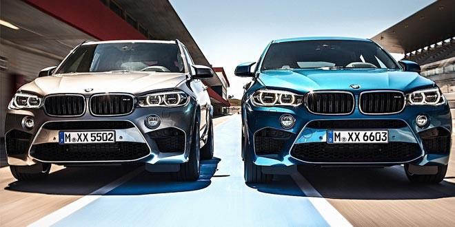 Рассекречены спорт-кроссы BMW X5 M и X6 M