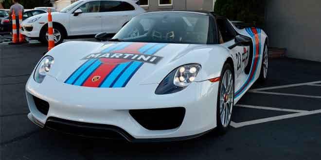Фотосет Porsche 918 Spyder Martini