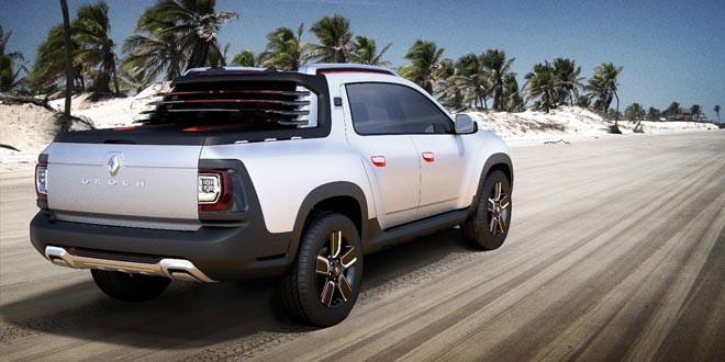 Новый концепт пикапа на базе Dacia Duster