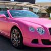 Розовые Bentley и Lamborghini от южноафриканского дилера
