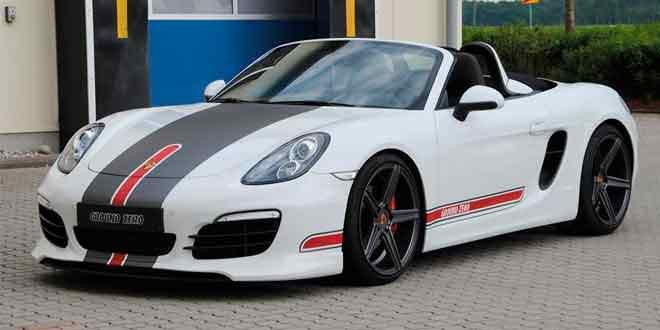 Кастом Porsche Boxster от mbDESIGN