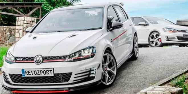 Агрессивные VW Golf GTI и R от RevoZport