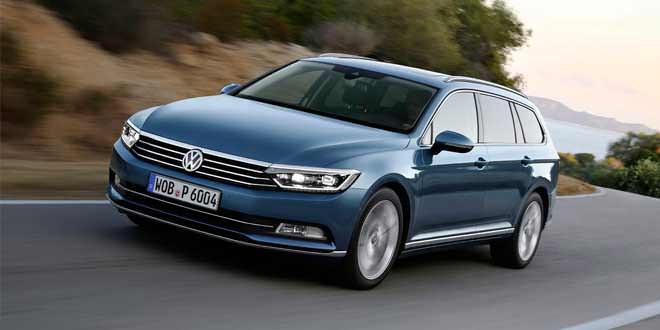 Volkswagen представит новый Passat Alltrack в следующем году