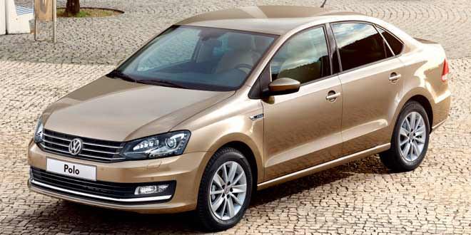 Рестайлинговый VW Polo Sedan выйдет в начале 2015 года