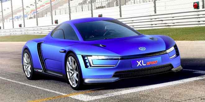 Вышла спортивная версия гибрида Volkswagen XL1