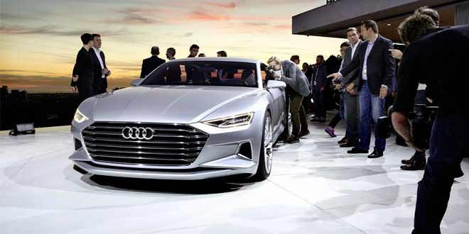 Концепт Audi prologue представлен «вживую»