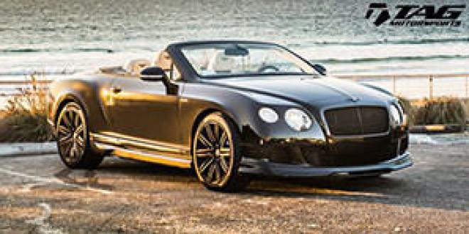 Ателье TAG Motorsports доработало Bentley Continental GT