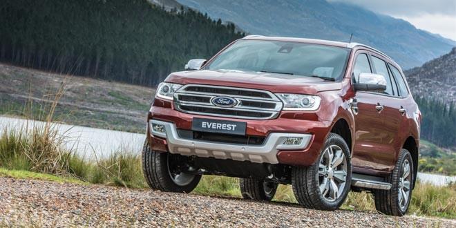Во внедорожной гамме Ford пополнение