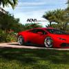 Lamborghini Huracan позирует на дисках ADV.1