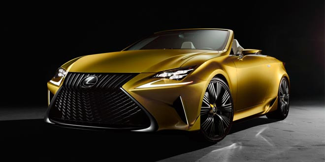 Официально рассекречен концепт Lexus LF-C2