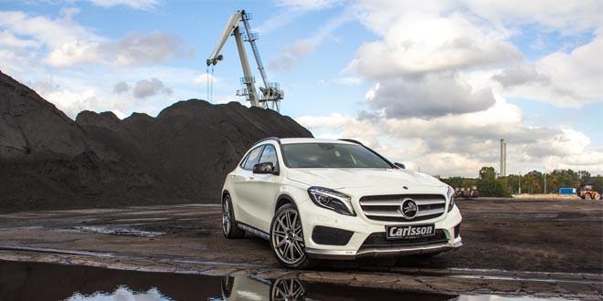 Carlsson прокачал Mercedes GLA