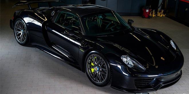 Фото дня: Porsche 918 Spyder Weissach Edition