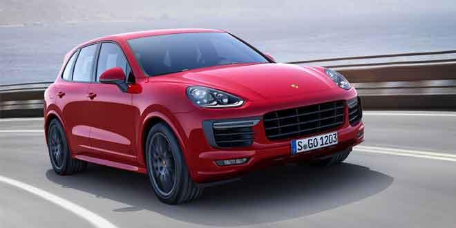 Вышел обновленный Porsche Cayenne GTS