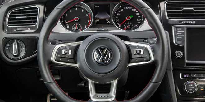 Volkswagen разработает руль с тачпадом