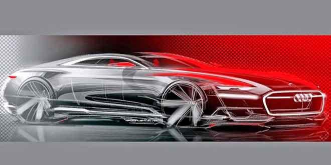 Опубликованы первые скетчи концепта Audi Prologue