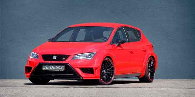 SEAT Leon Cupra 5F в доработке JE Design