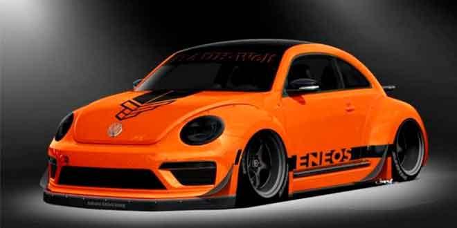 Таннер Фауст прокачал VW Beetle