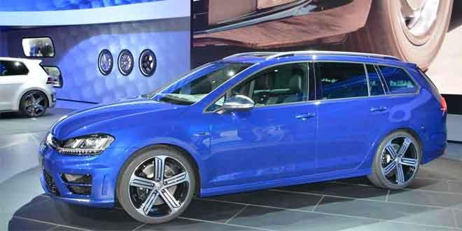 VW Golf R Variant прибыл в Лос-Анджелес как запретный плод